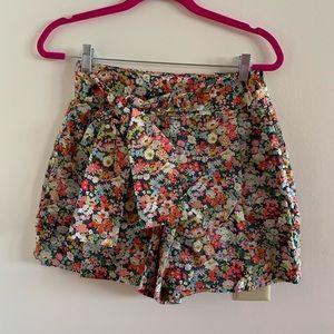 J-Crew Floral Shorts